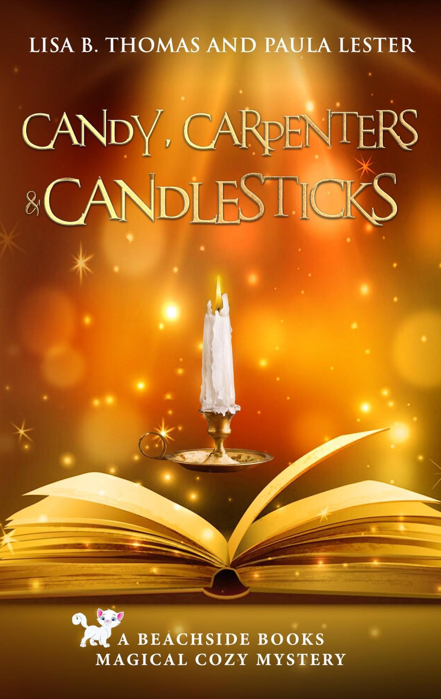 Candy, Carpenters and Candlesticks (Beachside Books 4)