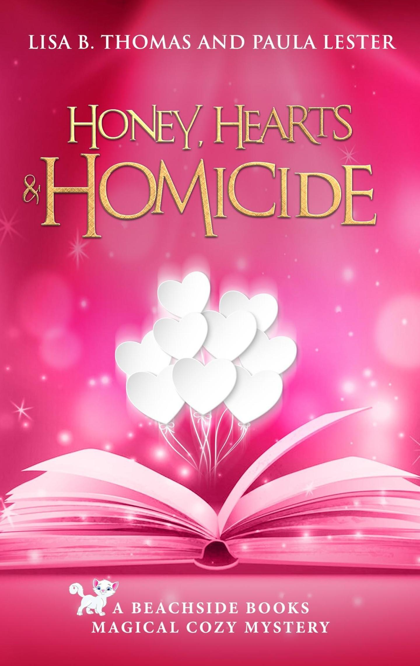Honey, Hearts and Homicide (Beachside Books 6)