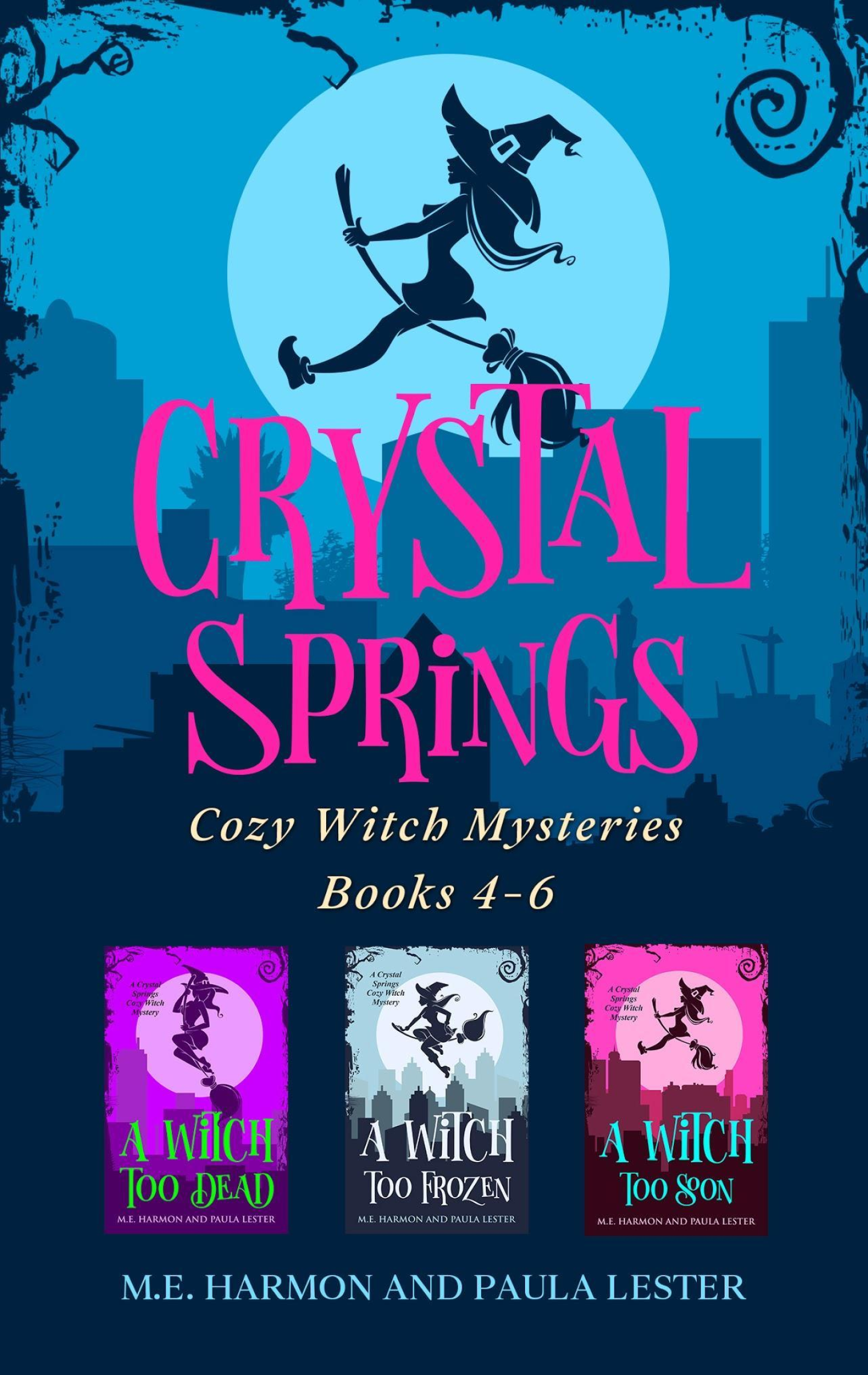 Crystal Springs Cozy Witch Mysteries Boxset 2
