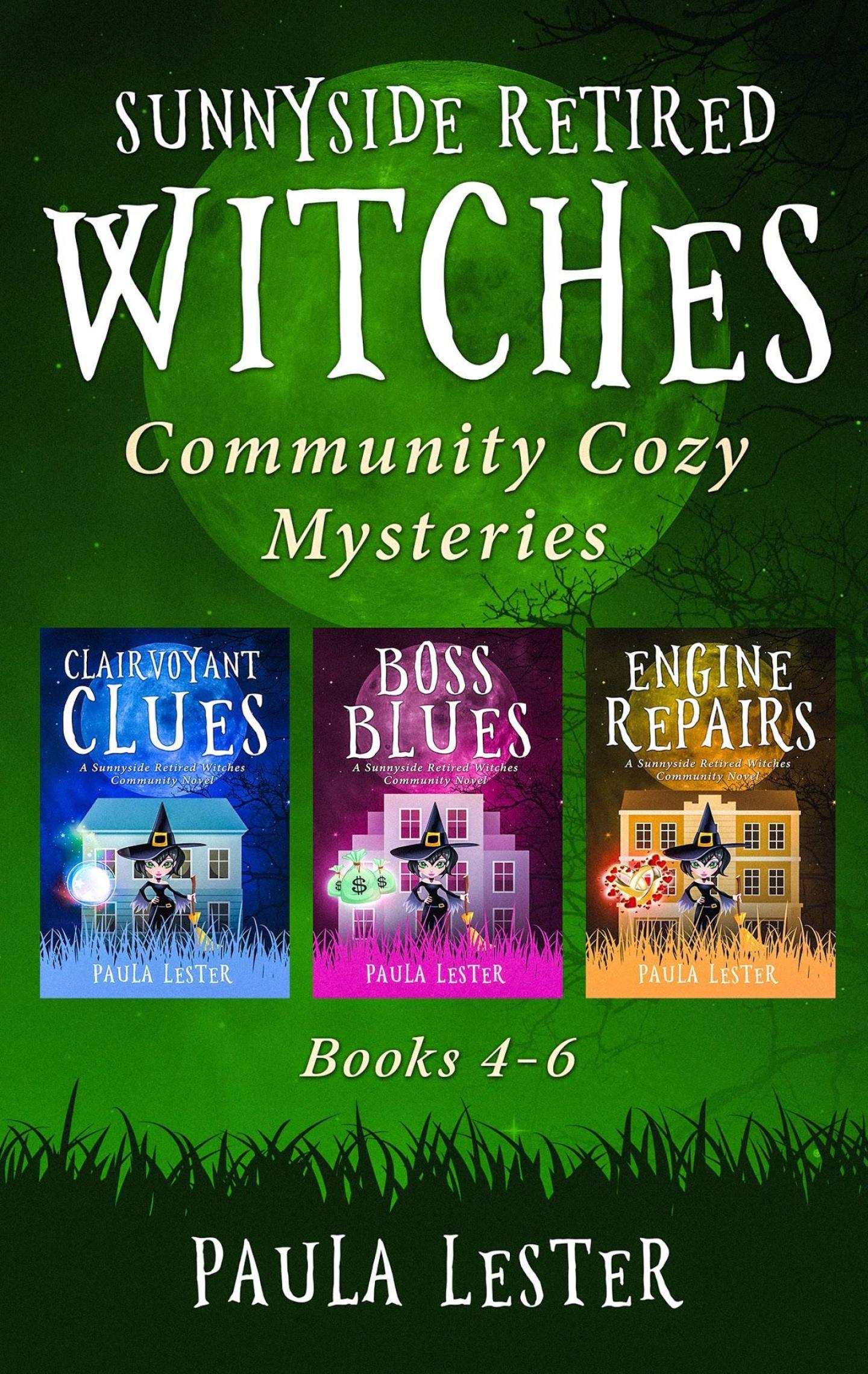 Sunnyside Retired Witches Community Series Boxset 2